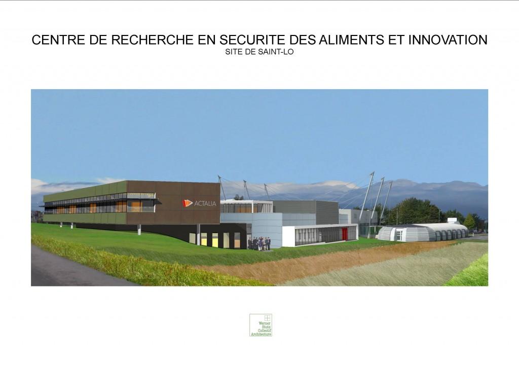 actalia inaugure son nouveau centre de r d en s curit des aliments et innovation sur saint l. Black Bedroom Furniture Sets. Home Design Ideas
