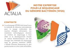 séquençage du génome bactérien WGS