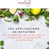 rapport utilisation applications notation alimentaire